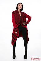 Осеннее женское пальто накидка