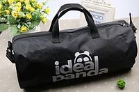 Спортивная сумка, Ideal Panda. Черная.