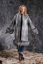 Шуба пальто з каракульчі SVAKARA зі знімною полював swakara broadtail jacket coat furcoat