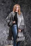 Шуба пальто из каракульчи SVAKARA со съемной чернобуркой swakara broadtail jacket coat furcoat, фото 7