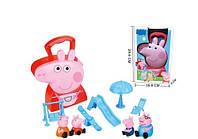 Игровой набор Игровая площадка Свинки Пеппы Peppa Pig в чемоданчике