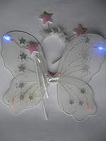 Набор феи, бабочки (крылья, обруч, волшебная палочка)