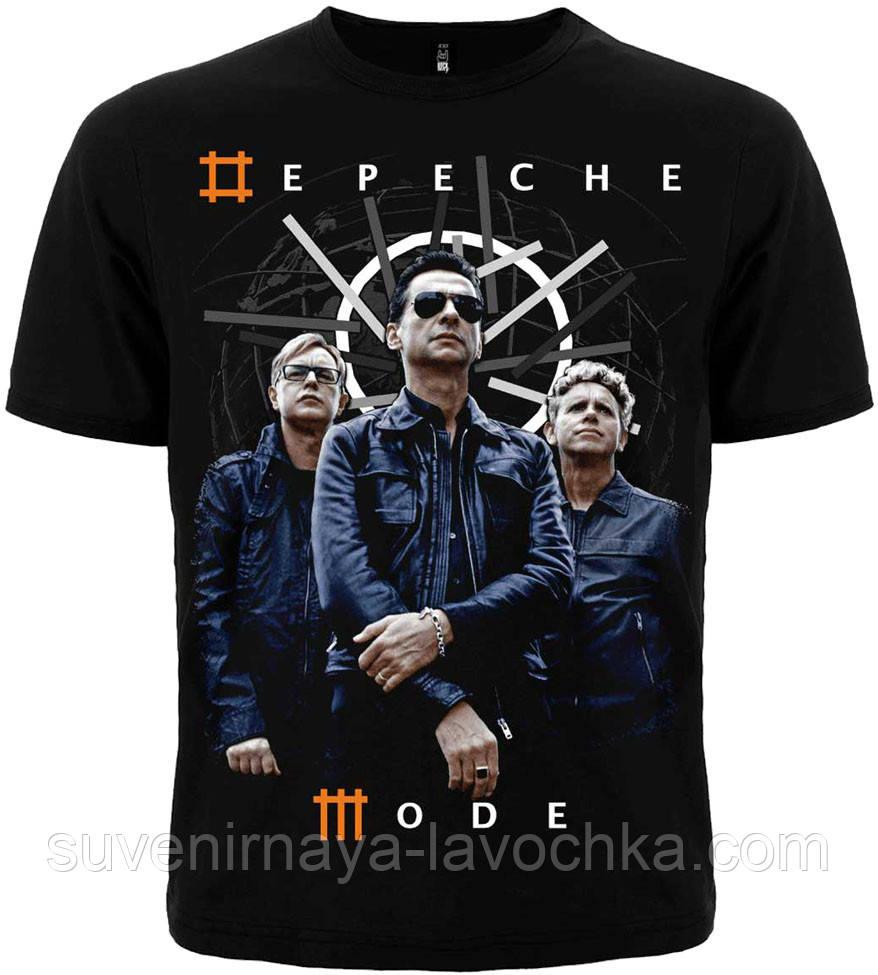 Рок футболка Depeche mode