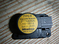 Привод заслонки печки Renault Fluence 09-12 (Рено Флюенс), 277T6A092A
