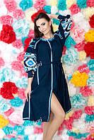 Платье женское с вышивкой СЖ 815-52