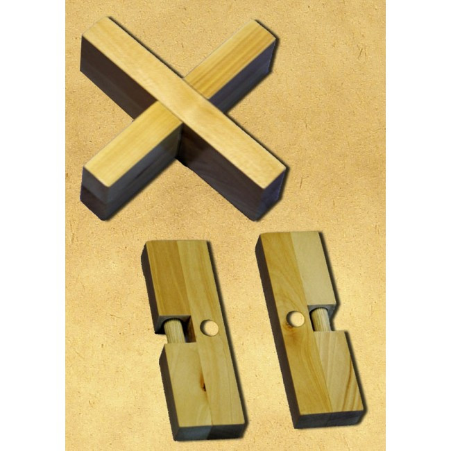 Головоломка Крест-вертушка