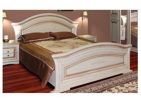 Спальня НИКОЛЬ патина Кровать 180 (Світ Меблів)