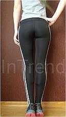 Женские спортивные лосины (легинсы) БАТАЛ №50, фото 3