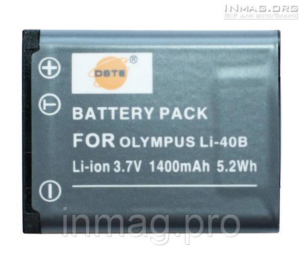 Аккумулятор для фотоаппарата UFO DS-5370, 1400 mAh.