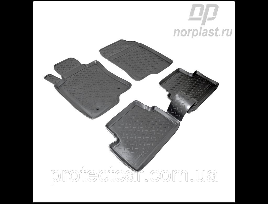 Ковры салонные для Honda Accord VIII (2008-2012) бежевые