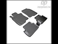 Ковры салонные для Honda Accord VIII (2008-2012) черные