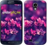 "Чехол на Samsung Galaxy S4 i9500 Пурпурные цветы ""2719c-13"""