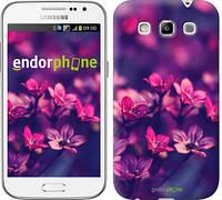 "Чехол на Samsung Galaxy Win i8552 Пурпурные цветы ""2719c-51"""