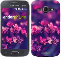 "Чехол на Samsung Galaxy Ace 3 Duos s7272 Пурпурные цветы ""2719c-33"""