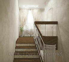 Отделка бетонных и металлических лестниц, фото 3