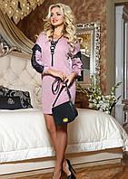 Нарядное женское платье-туника Eks584
