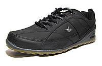 Кроссовки мужские  ECCO кожаные черные (р.42,44,45)