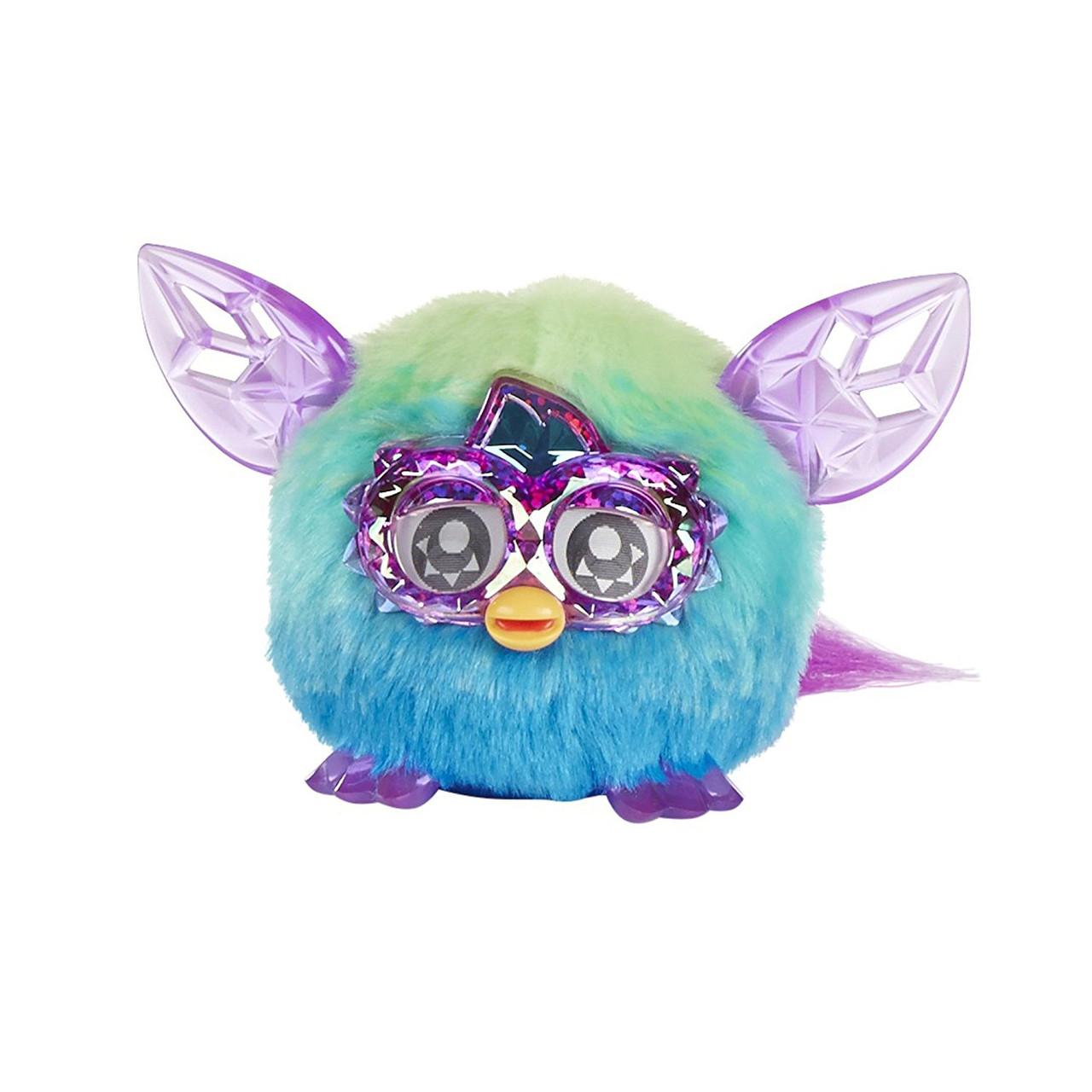 Ферби малыш ферблинг бирюзовый  кристальный Furby Furblings