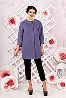 Женское пальто свободного кроя в 7ми цветах В-1000 , фото 1