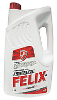 Антифриз Felix Carbox-40°C красный, 5кг