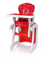 Детский стульчик для кормления трансформер 4baby Fashion (Red)