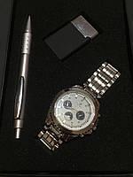 Подарочный набор №4 - часы, ручка, зажигалка - подарок для мужчин