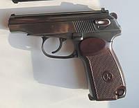 Пистолет под патрон флобера ПМФ-1 с запасным магазином