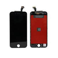 Модуль для iPhone 6 (дисплей + тачскрин), черный, копия высокого качества TianMa
