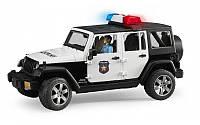 Полицейский внедорожник Jeep Wrangler Rubicon Bruder 02526