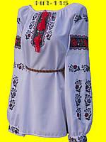 Вышитая крестиком женская блузка.