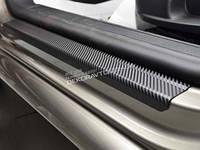 Накладки на пороги карбон Nataniko для Ford Transit  2000-06, 06+
