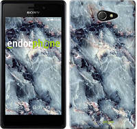 """Чехол на Sony Xperia M2 D2305 Мрамор """"3479c-60"""""""