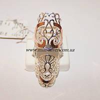 Широкое кольцо без камней Царица, фото 1