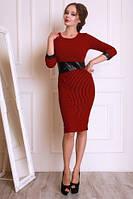 Эффектное платье из качественного трикотажа