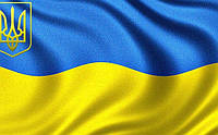 Украина флаг Вафельная картинка