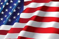 США флаг Вафельная картинка