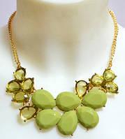 Очаровательное женское колье DRESS xl1041_зелен
