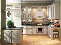 """Кухня """"Искья Зеленая"""" из массива , фото 1"""