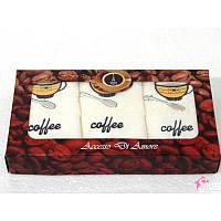 Салфетки махровыеAccessj Кофе 3 шт Турция