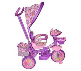 Велосипед трехколесный Azimut Princessa BC-16S колёса пена
