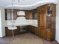 """Кухня """"Гварнери"""" из массива, фото 1"""