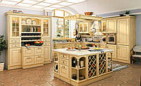 """Кухня """"Венеция светлая"""" из массива, фото 1"""