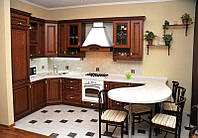 Кухня Сорренто из массива, фото 1