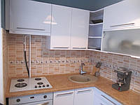 """Кухня """"Белый Глянец"""" из пленочного МДФ, фото 1"""