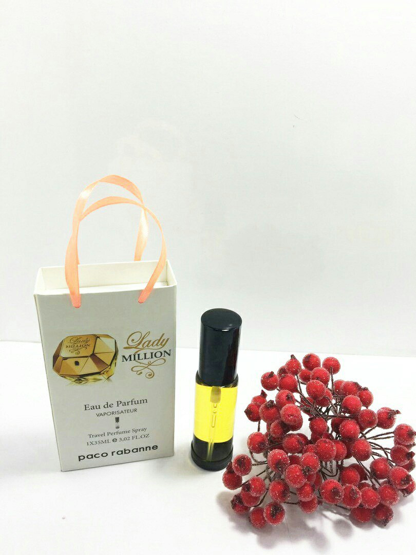 Парфюм – спрей в подарочной упаковке Lady Million Paco Rabanne   -  35мл