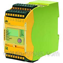 PILZ Защитное реле PNOZ p1p 24VDC 2so
