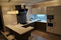 Кухня Эмаль Белая  из пленочного МДФ, фото 1