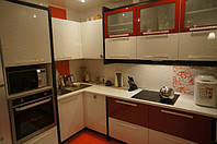 Кухня Эконом Желтая из пленочного МДФ, фото 1