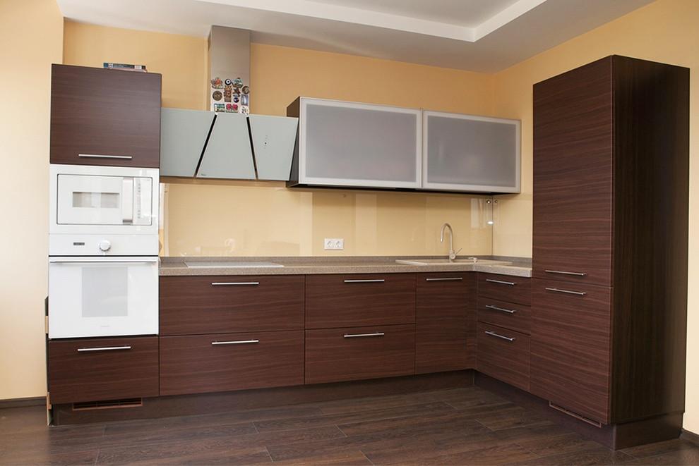 Кухня Венге из пленочного МДФ