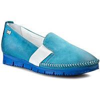 Туфли женские кожа Simen, р.38 - 24,5см. Мокасины, слипоны, фото 1